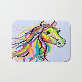 Horse of a Different Color Bath Mat