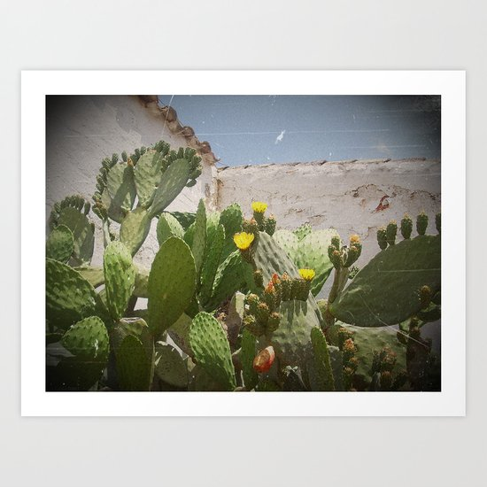 Mediterranean light Art Print