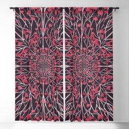 Dogwood Pattern Blackout Curtain