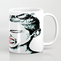 miley cyrus Mugs featuring Miley Cyrus  by Clairenisbet