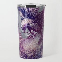 Romance Wolf Travel Mug