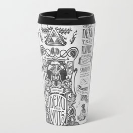 Legend of Zelda inspired Deku Nuts Vintage Advertisement Travel Mug