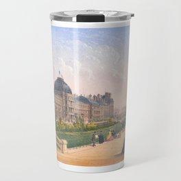 Les tuileries Paris France Travel Mug