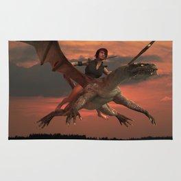 Dragon Girl  Rug