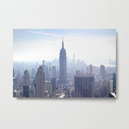New York sky line Metal Print