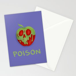 Poison Apple Stationery Cards