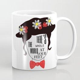 World at your feet Coffee Mug
