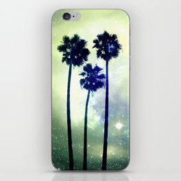 Celestial Palm Trees iPhone Skin