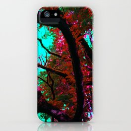 Psychedelic Forrest iPhone Case