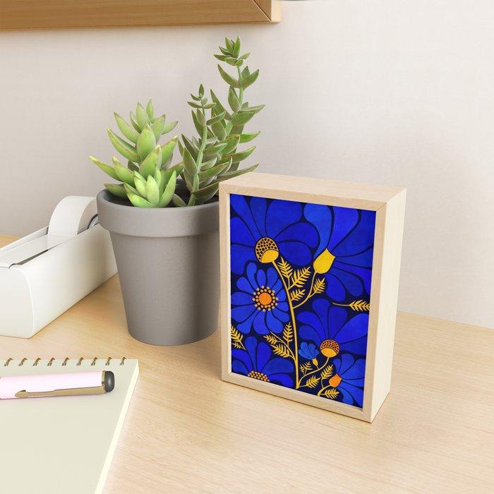 Wildflower Garden Framed Mini Art Print