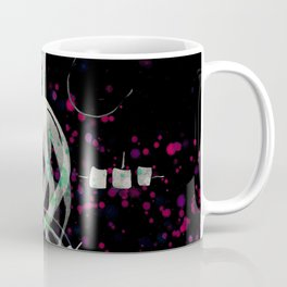 A Tarot of Ink Major Arcana XXI The World Coffee Mug