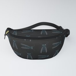 Bee's Black Fanny Pack