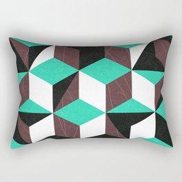 rhombus mania Rectangular Pillow