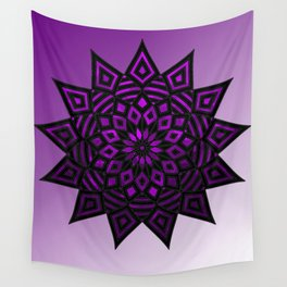 Purple Star | Tam Tam | Mandhala Wall Tapestry