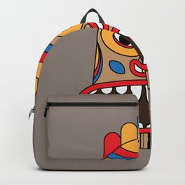 hawaiian tiki Backpack