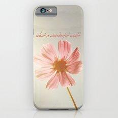 what a wondeful world iPhone 6 Slim Case