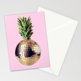 Ananas party (pineapple) Pink version Stationery Cards