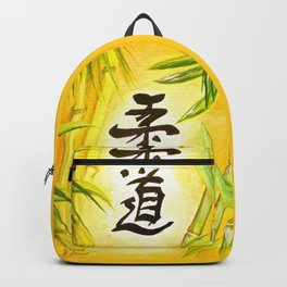 japanese JuDo - the gentle way Backpack