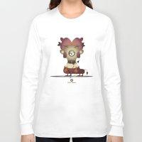sagittarius Long Sleeve T-shirts featuring SAGITTARIUS by Angelo Cerantola