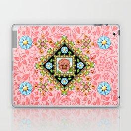 Pink Pansy Cottage Laptop & iPad Skin