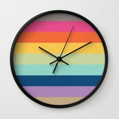 Summer Colors Wall Clock