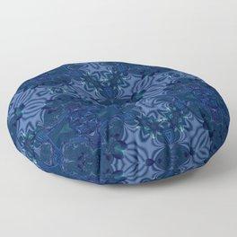 Oxford Blue Motif Floor Pillow