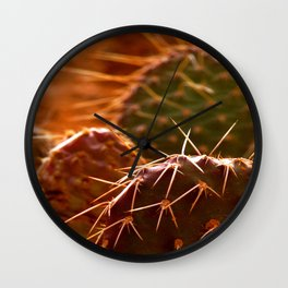 More Cactuses Wall Clock