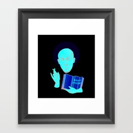 Saint Bonjo Framed Art Print