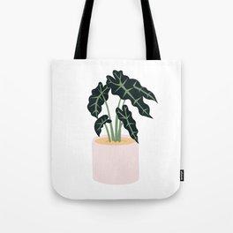 Elephent Ear Plant Tote Bag