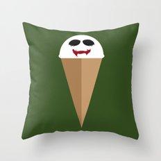 Joker Mint Throw Pillow