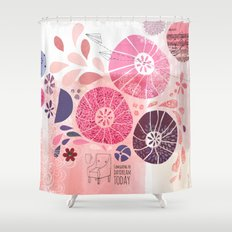 I Am Going To Daydream Today Shower Curtain