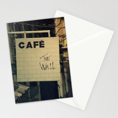 Cafe The Wall Stationery Cards