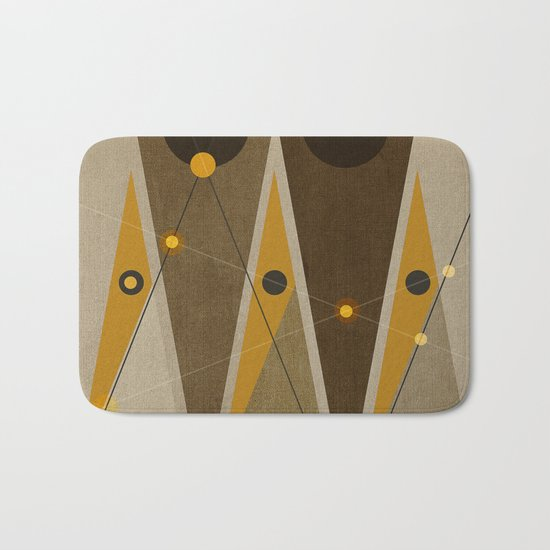 Geometric/Abstract 1 Bath Mat