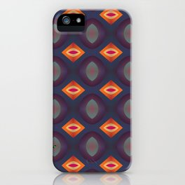 70's Geometric 2 iPhone Case
