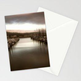 Unbalanced Half Moon Bay California Stationery Cards