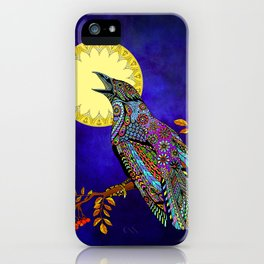 Electric Crow iPhone Case