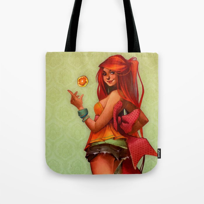 Ginger Citrus Tote Bag