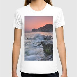 Big Wave. La Joya Beach At Sunset. T-shirt