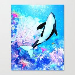 Orca 3 Canvas Print
