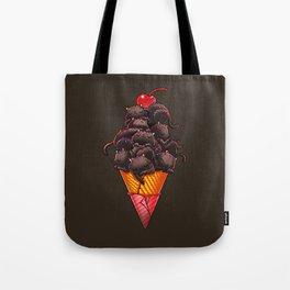 Cat Ice Cream Tote Bag