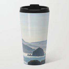 Haystack Rock from Crescent Point Metal Travel Mug