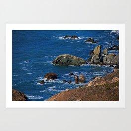 Muir Beach Overlook IV Art Print