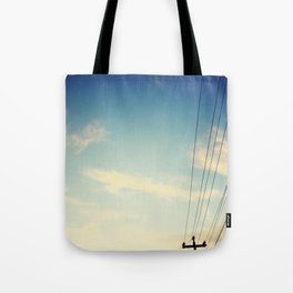 Powerlines Tote Bag