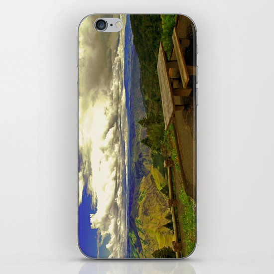Table with a View iPhone & iPod Skin