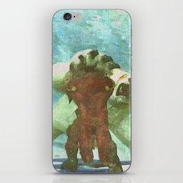 White bear attack iPhone Skin