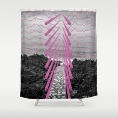 Surreal Beachscape Shower Curtain