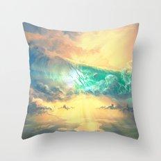 Sky Breaker Throw Pillow