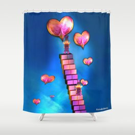 Spread the love Shower Curtain