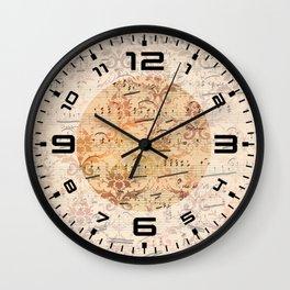 Vintage Ephemera 3 Wall Clock