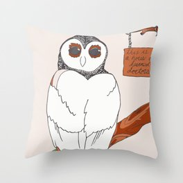 House of Learned Doctors Throw Pillow